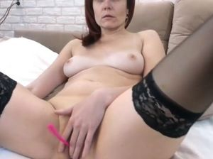 Mom caught fingering