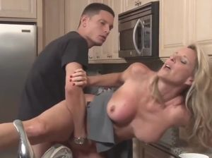 Milf fucks monster cock
