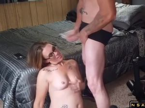 Cum dripping slut
