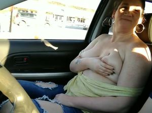 Tits and car
