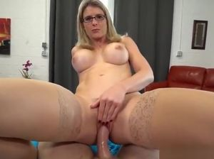 Mom gives son anal
