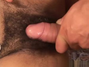 Horny hairy mature