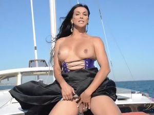 Milf on a boat