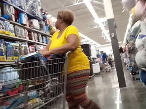 Big ass black granny