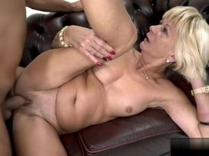 Granny riding dick